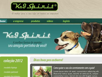 Website K9 Spirit